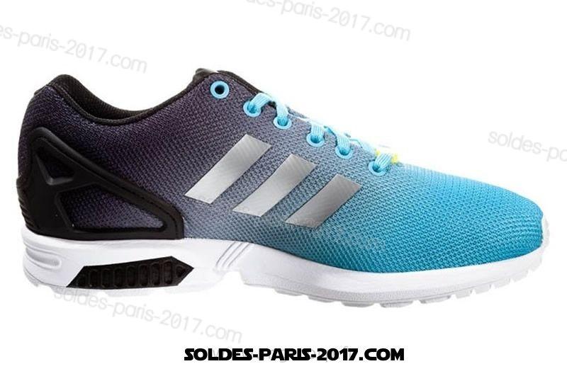 adidas zx flux bleu ciel